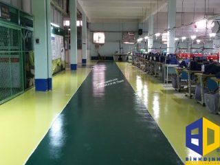 Sơn Epoxy Tại KCN Tân Bình
