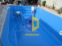 Sơn Epoxy cho hồ xử lý nước thải FRP (