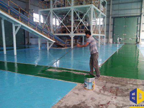 Sơn sàn epoxy giá bao nhiêu?