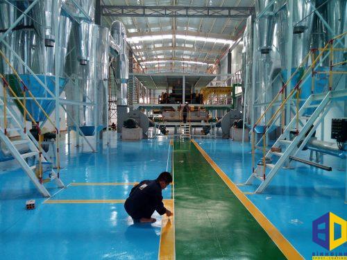 Thi công sơn epoxy cho các khu công nghiệp