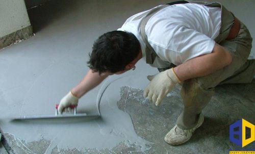 Xử lývữa cách ẩm trước khi thi công sơn epoxy