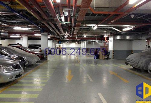 sơn sàn epoxy sàn tầng hầm