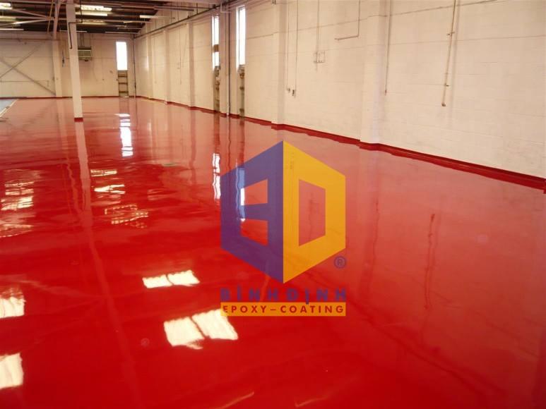 Dự án hạn mục sơn epoxy