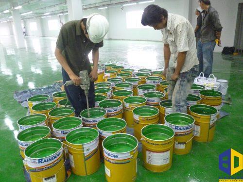 Quy trình sơn epoxy theo chuẩn quốc tế