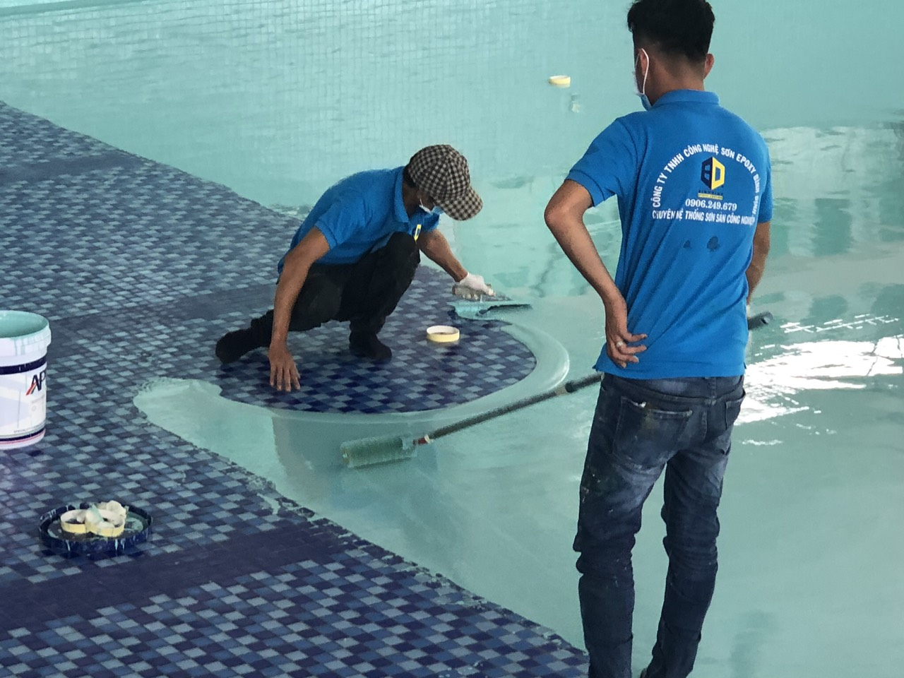 sơn epoxy cho hồ bơi giá rẻ