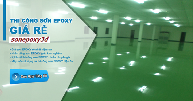 đại lý sơn epoxy giá rẻ tại TpHCM