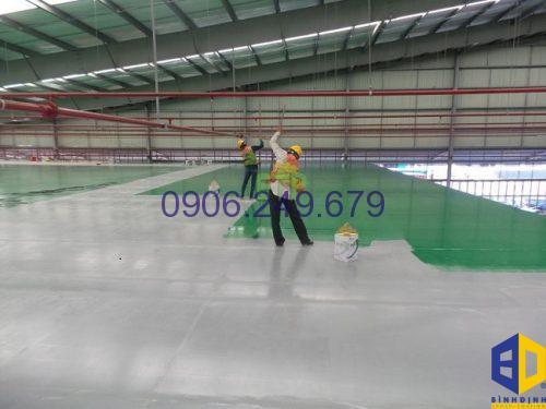 thi công sơn epoxy giá rẻ