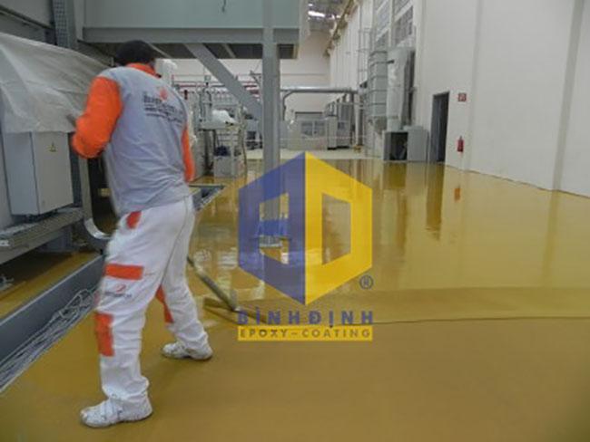 Vì sao chọn dịch vụ sơn epoxy bình định