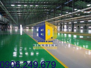 Công trình nhà xưởng tại Bình Định