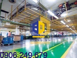 Thi công sơn Epoxy nhà máy Samsung Việt Nam tại Tphcm